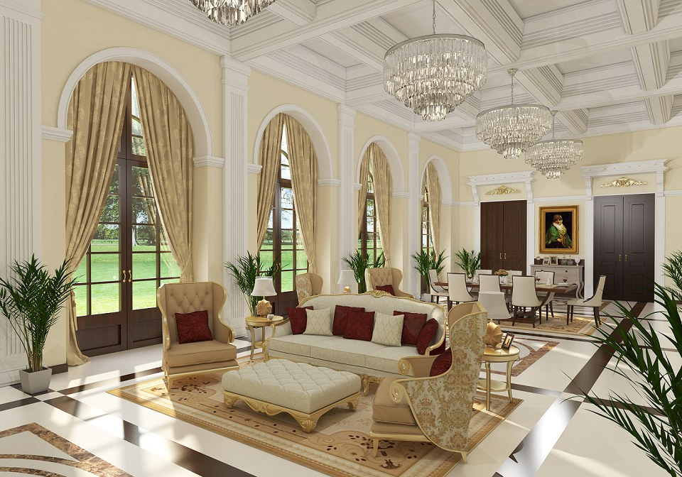 living room classic ethan allen tables free 3d models by ahmed taha vray render comet group