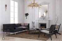 Free 3D Models - LIVING ROOM - MODERN LIVING ROOM ...