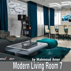 How Much To Carpet A Living Room Wall Shelves For Free 3d Models - Modern Concrete ...