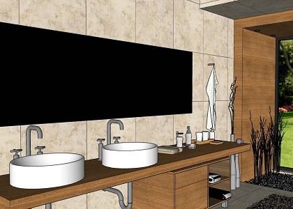 Free 3D Models  BATHROOM  MODERN BATHROOM  VISOPT  by