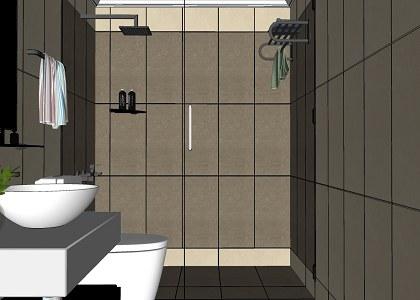 Free 3D Models  BATHROOM  BATHROOM  VISOPT  by Hu Phc