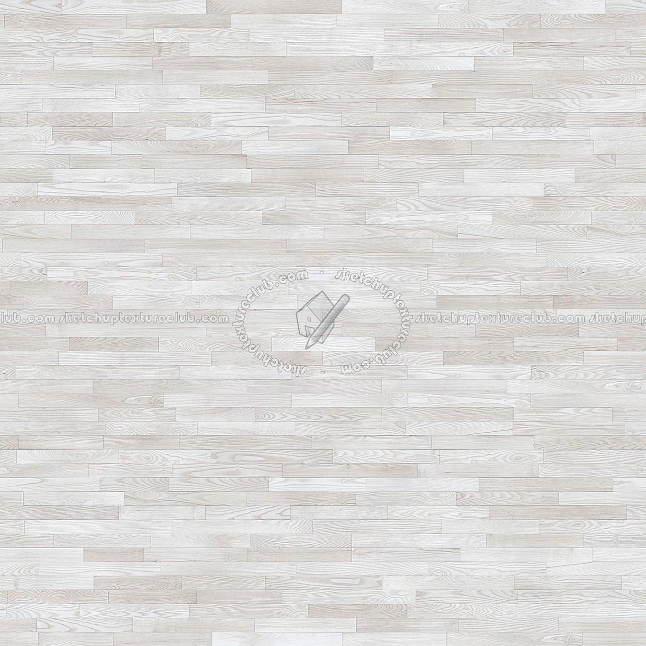 White Wood Flooring Texture Seamless
