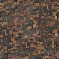 Old wood wall panels texture seamless 04569