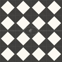 Checkerboard cement floor tile texture seamless 13413