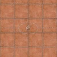 Terracotta tiles textures seamless