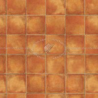 Terracotta tiles textures seamless