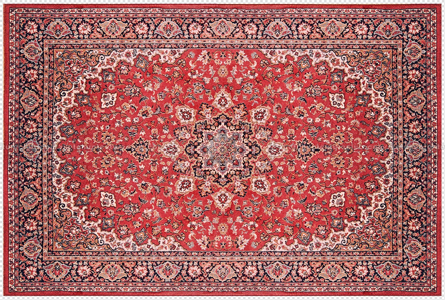 Cut out persian rug texture 20154