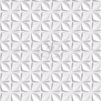 White interior 3D wall panel texture seamless 02973