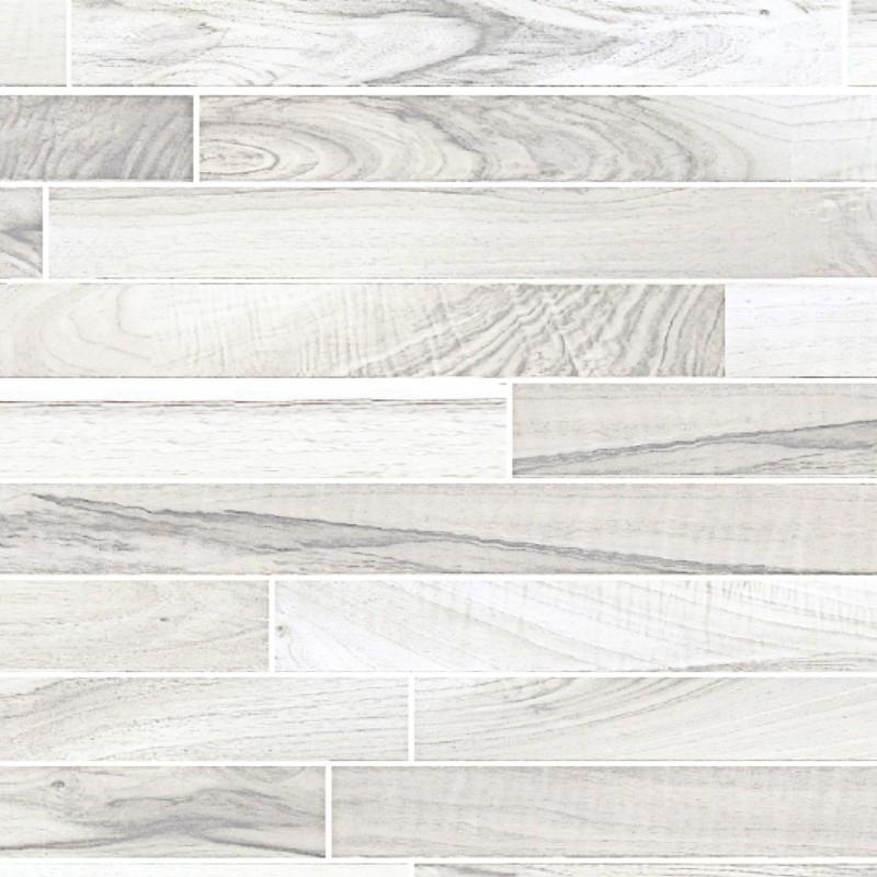 White wood flooring texture seamless 05448
