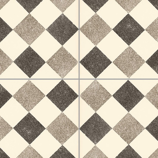 Checkerboard cement floor tile texture seamless 13426