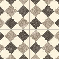 Checkerboard cement floor tile texture seamless 13426