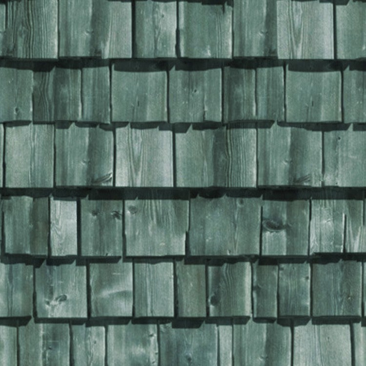 Red Black Damask Wallpaper Wood Shingle Roof Texture Seamless 03805