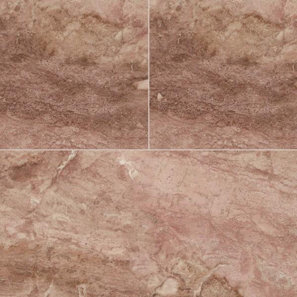Pink travertine floor tile texture seamless 14705