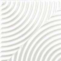 White interior 3D wall panel texture seamless 03020
