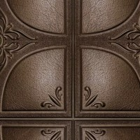 Leather interior 3D wall panel texture seamless 02884