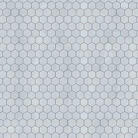 hexagonal outdoor paving textures seamless