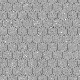 hexagonal mixed tiles textures seamless