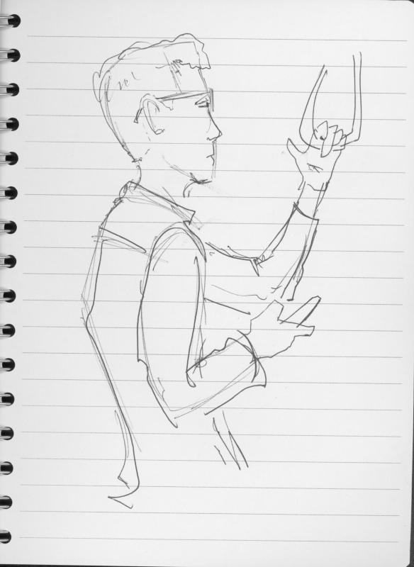 Man checking phone 2
