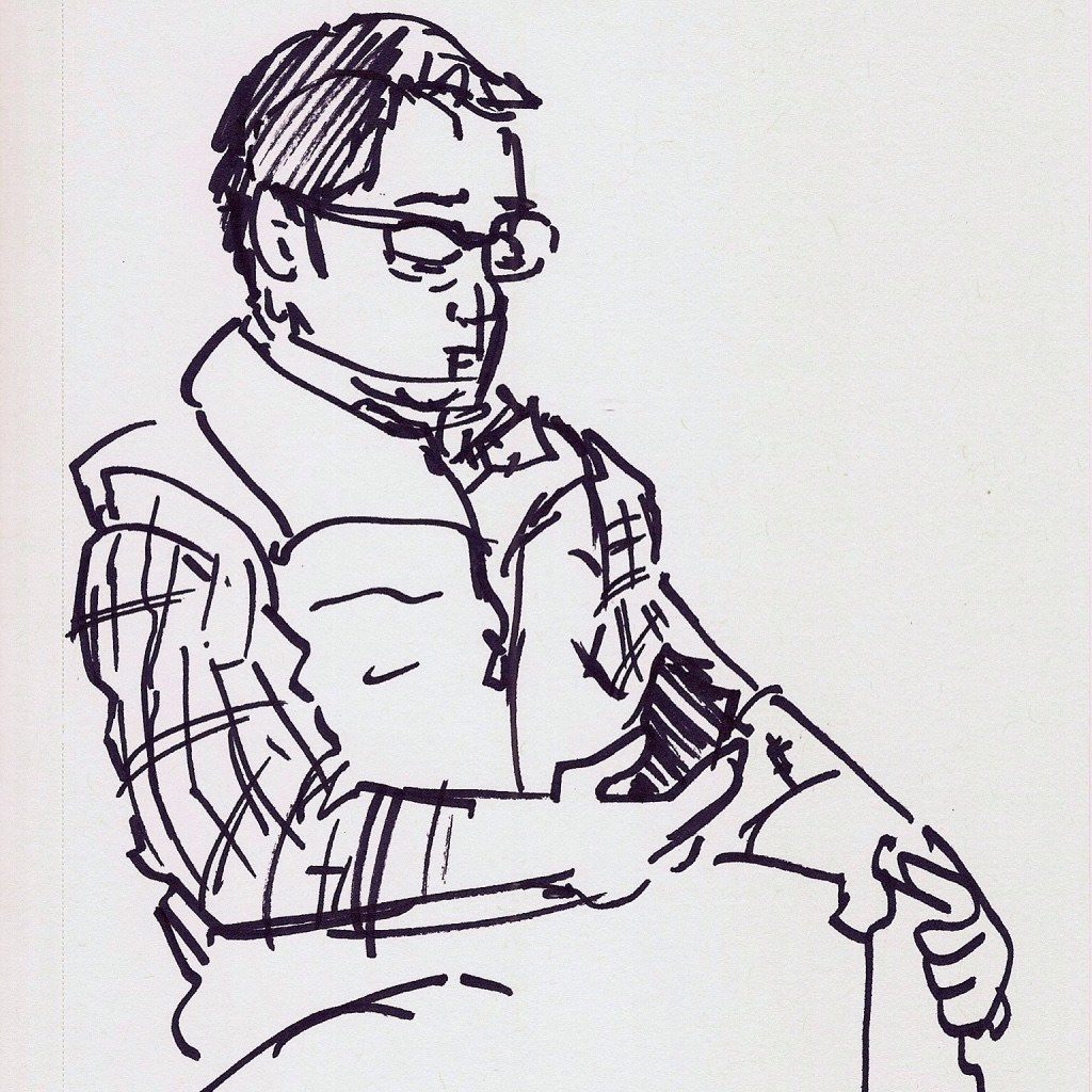life drawing, sketch of the day, sketchysoul, Angela Entzminger