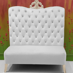 Tufted Chaise Lounge Chair Crate And Barrel Folding Chairs Luxury Wedding Event Furniture King Queen Throne Bridal Shower | S ...