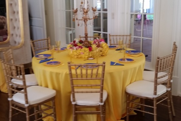 chair cover rentals macon ga covers craft ideas s k event design and beauty the beast