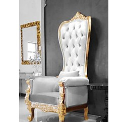 Chair For Rent Wing Back Dining Luxury Wedding Event Lounge Furniture King And Queen