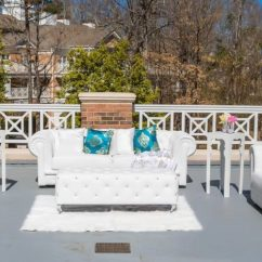 Chair Rentals Columbia Sc Orange Deck S K Event Design And Lounge Set Up White