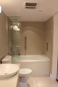 Condo master bathroom remodel