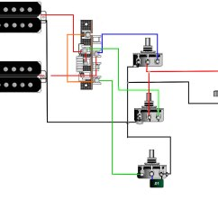 Guitar Wiring Diagrams 3 Pickups 1 Volume 2 Tone Pto Indicator Switch Tips Tricks Schematics And Links