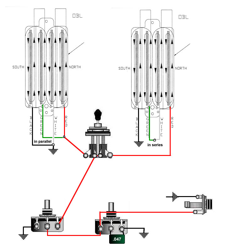 dimarzio pickup wiring diagram polaris pool cleaner parts guitar tips tricks schematics and links 2 quadrail types