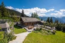 Switzerland Swiss Alps Chalet