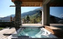 Ski Chalet Hot Tub