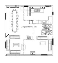 Chalet Juliette: 14 Bed Ski Chalet Floor Plan