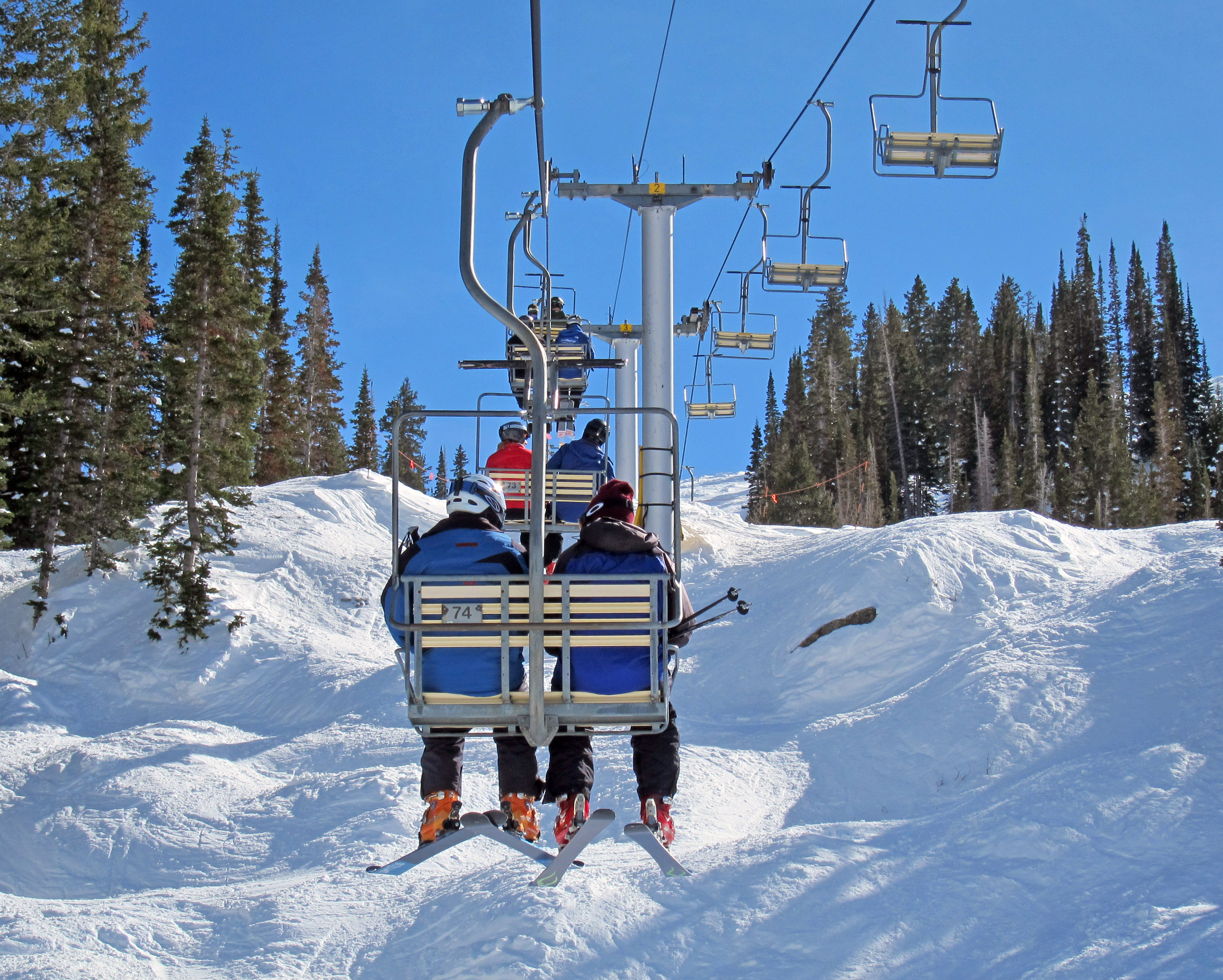 ski lift chairs for sale quilted swivel chair utah chairlift photo ornament within 2011 park city