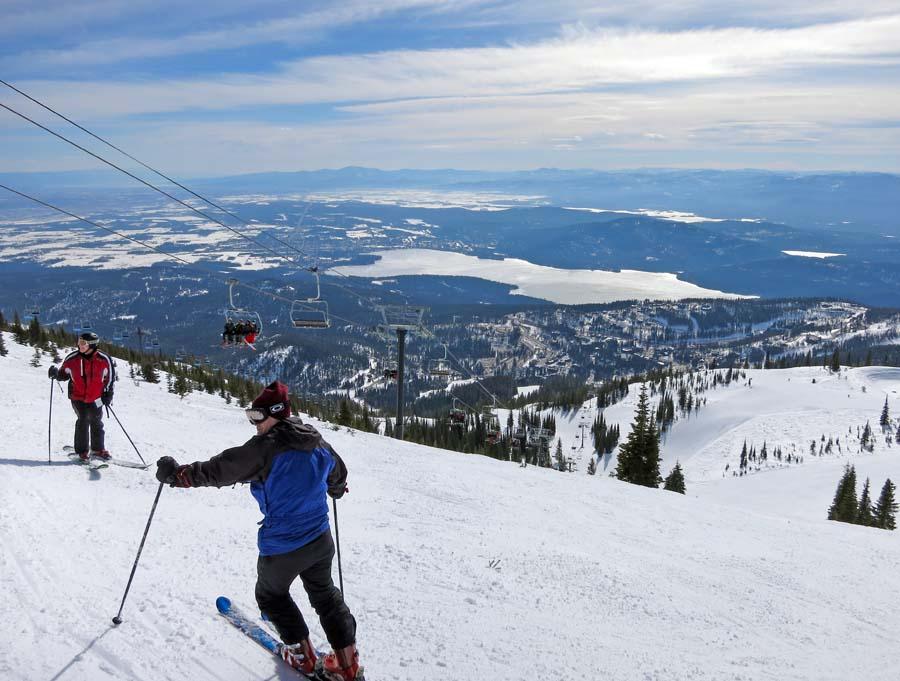 2015 Ski Whitefish Montana Big Mountain