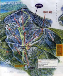North Star Ski Resort Map