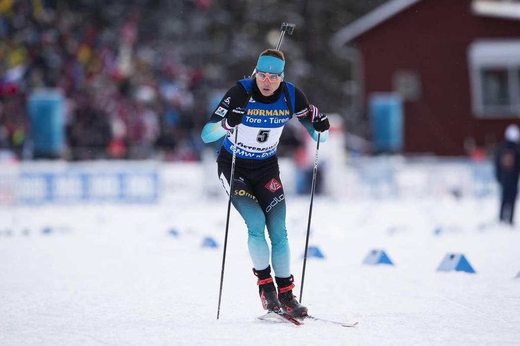 biathlon les bleus sur tapis roulant