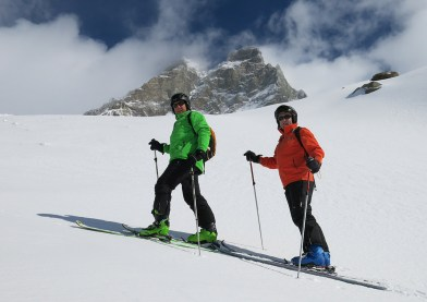 cervinia ski touring