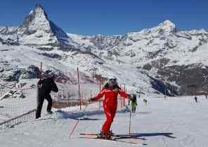 Cervinia Zermatt ski school