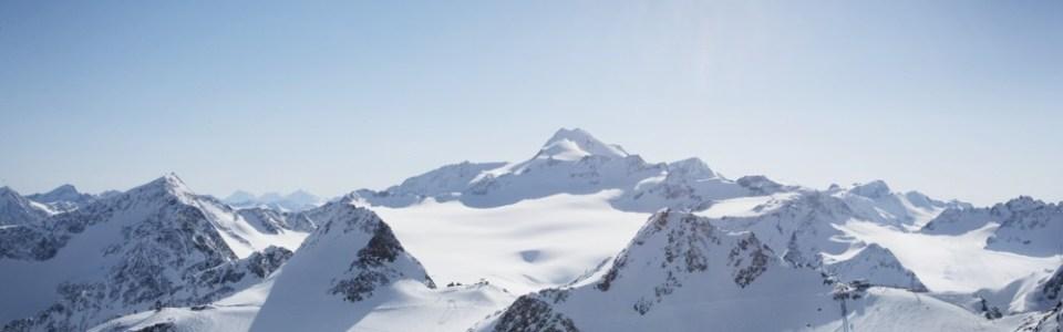 soelden rettenbach glacier, soelden glacier skiing, summer glacier skiing in the Alps, where to go summer glacier skiing in Europe