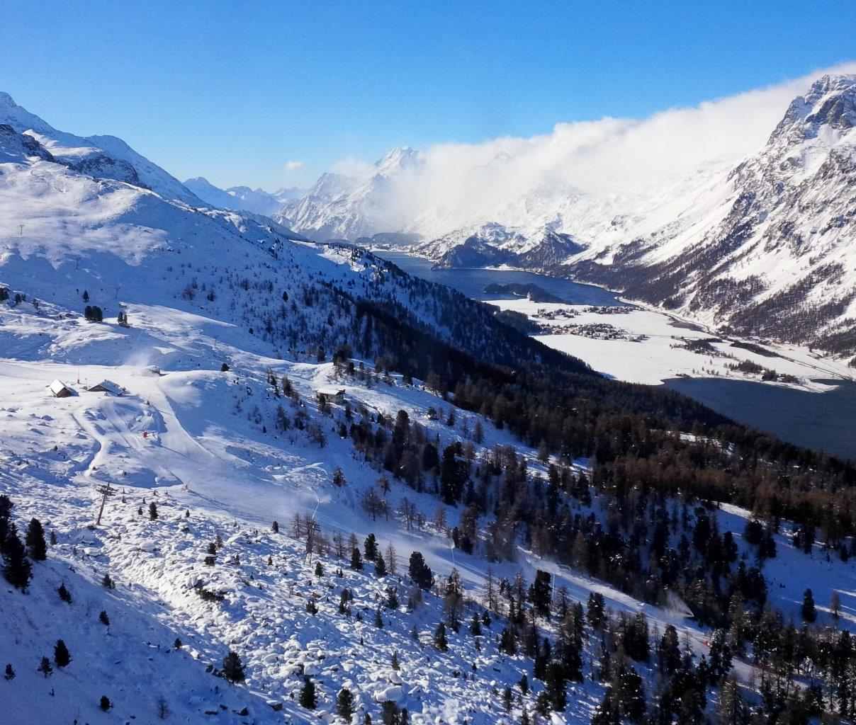 St. Mortiz is open for ski season