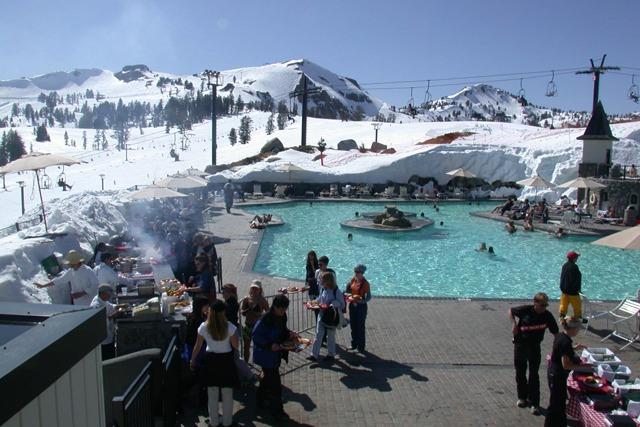 High Camp at Squaw Valley ski resort
