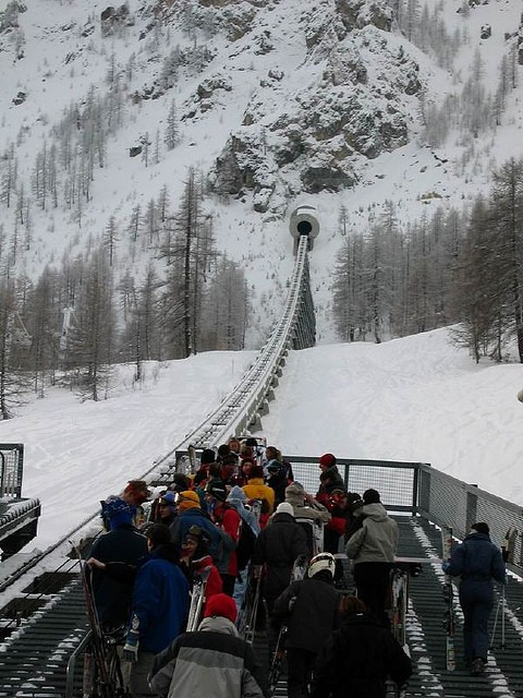 Val d'Isere's Funival