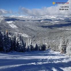 Northstar new snow