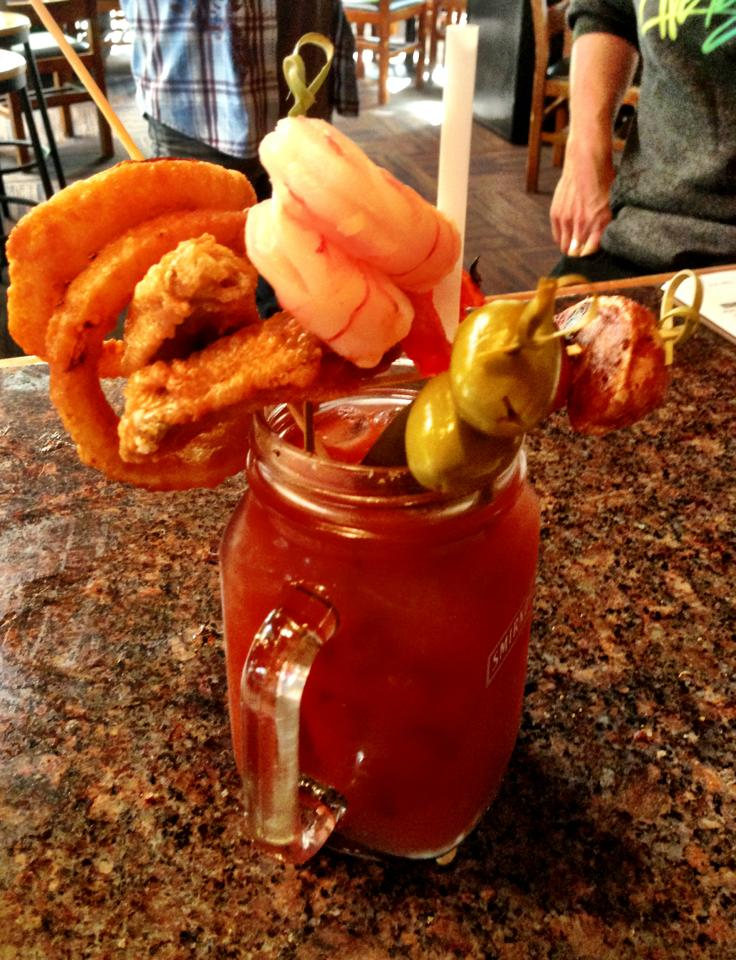 Best Bloody Mary in Whistler, Merlin's Famous Blood Mary, Whistler Blackcomb, B.C.
