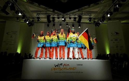 Germany's Olympic Rainbow Uniform