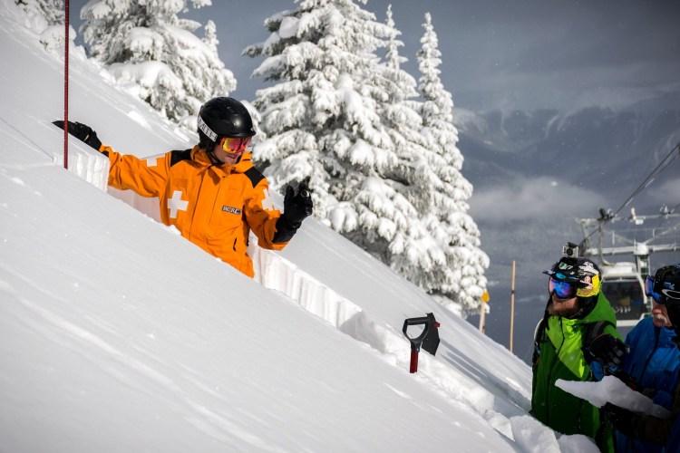 vertical drop at Kicking Horse Mountain Resort