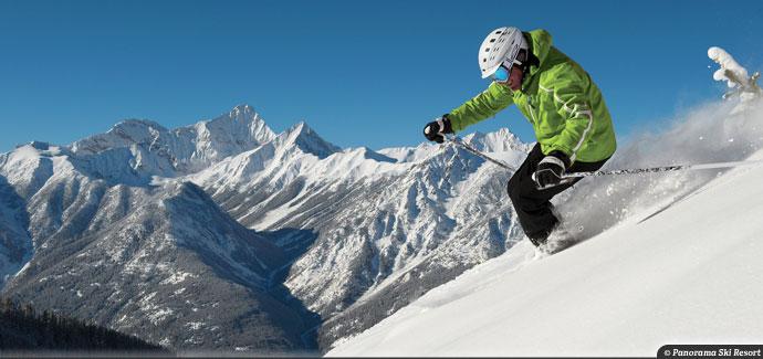 Panorama ski resort 3,820 vertical feet