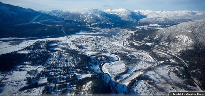 Longest Vertical Ascent in North America Revelstoke, Lift-served vertical descent Revelstoke