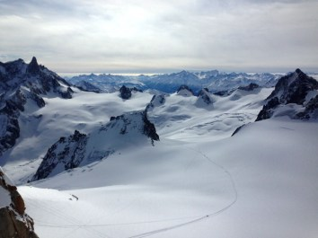 Vallee Blanche Classic Route
